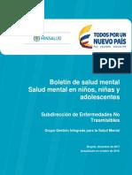 Boletin 4 Salud Mental Nna 2017