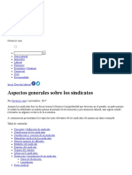 Aspectos Generales Sobre Los Sindicatos _ Gerencie.com