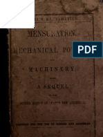 Mensuration, mechanical powers and machinery