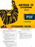 Hakuna Madigest Citizenship
