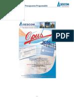 Manual OPUS 2014 Presupuesto Programable