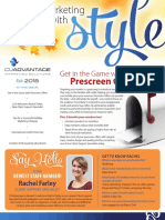 CUAdvantage Newsletter - Fall 2018