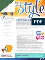 CUAdvantage Newsletter - Spring 2019