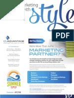 CUAdvantage Newsletter - Summer 2018