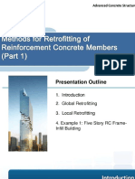 Methods for Retrofitting of Reinforced Concrete Members (Part 1) by Dr. Pramin Norachan