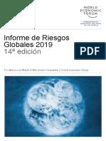 Informe Global de Riesgos 2019. Resumen Ejecutivo