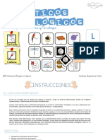 Loto - Letra L - Fonema en s+¡laba directa