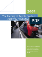 The Journey of Toyota
