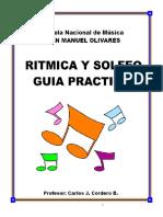 Ritmica y Solfeo - Guia Practica - Carlos Cordero