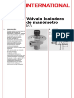 P4502-0!06!01 Manometer Absperrventil