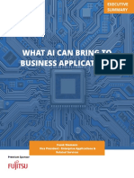 What a.i Can Bring to Business Applications