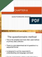 Ch.8-QuestnrDesgn Prashant c