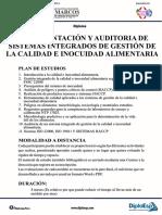 Inecidg - Implementacion y Auditoria de Sig en Inocuidad Alimentaria - Unmsm
