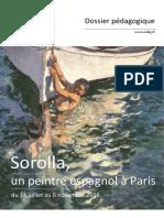 Dossier Pedagogique Exposition Sorolla Mdig