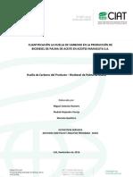 Informe Cuantificación La Huella de Carbono en La Producción de Biodiesel de Palma de Aceite en Aceites Manuelita S.a 2013-2014