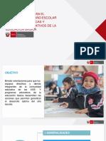 392195192 Orientaciones Para El Desarrollo Del Ano Escolar 2019 Copia