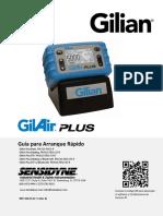 GilAir Plus Quick-Start Guide SPANISH 360-0135-11rE