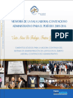 MemoriaSalaLaboralContenciosoAdministrativo2009-2016