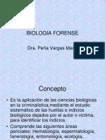 BIOLOGIA FORENSE