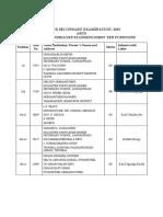 Training Calender -2019 for Basic Avsec Training for Approved Trainng Centres (1)