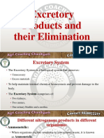 Excretory Product & Their Elimination
