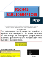 4.- FICHAS  BIBLIOGRÁFICAS