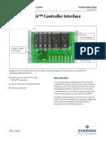 Product Data Sheet m Series Controller Interface for Rs3 i o Deltav en 57320