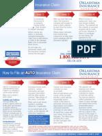 Oklahoma Insurance Department Claim Information