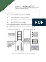 Cortante Basal - Clase 2 de Estructuras III