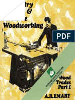 Carpentry, Joinery and Machine Woodworking - Wood Trades Part 1