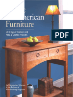 Classic American Furniture - 20 Elegant Shaker and Arts & Crafts Projects