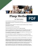 Tyler Durden - Pimp Method Cd2 Id308242582 Size98