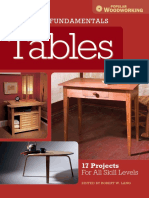 Furniture Fundamentals - Tables - 17 Projects for All Skill Levels