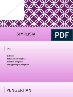 Simplisia Fix