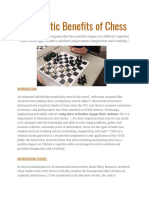 Scholastic Benefits of Chess Review