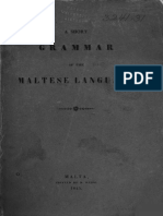 Short a. - Grammar of the Maltese Language