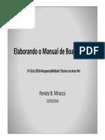 Microsoft PowerPoint - Manual Boas Praticas CRMV