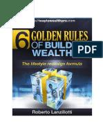 6 Golden Rules Building Wealth 0