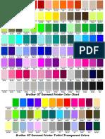 GT ColorChart