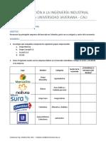 Taller 4. Empresas y Sectores