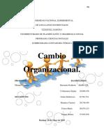 Cambio Organizacional(2)
