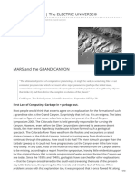 Mars and the Grand Canyon