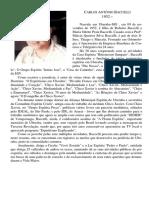 Biografia - Carlos Antonio Baccelli