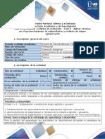 Guía de Actividades y Rúbrica de Evaluación - Fase 6 - Aplicar Técnicas en El Aprovechamiento de Subproductos y Residuos de Origen Agropecuario (1)