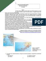 Teste Areal Geo 10 - 3 2016