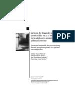 24. La Teoría Del Desarrollo Humano y Sustentable