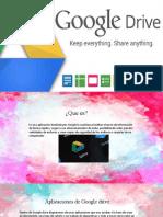 capacitación google drive