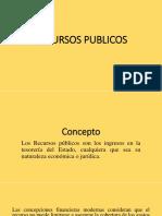 RECURSOS PUBLICOS