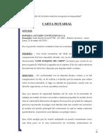 Carta Notarial Antares