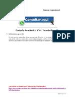 FINANZAS CORPORATIVAS II PRODUCTO ACADÉMICO N°1